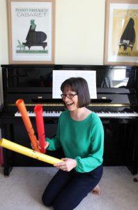 Angela Lloyd-Mostyn boomwhackers lessons