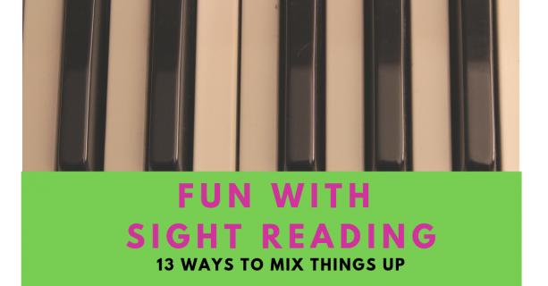 Make Sight Reading Fun. Didsbury Piano teacher tips