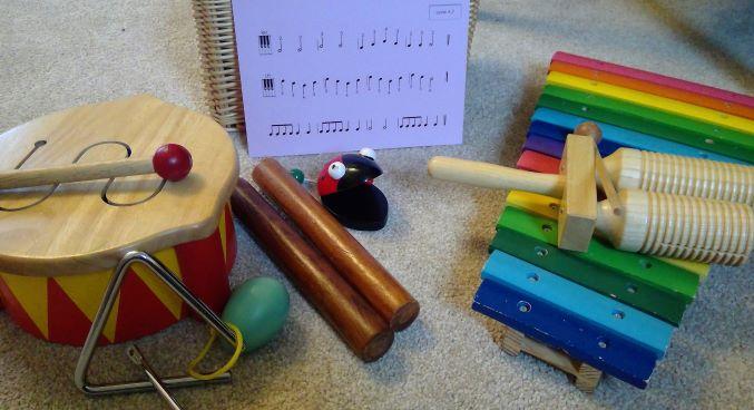 percussion instruments at Didsbury Piano