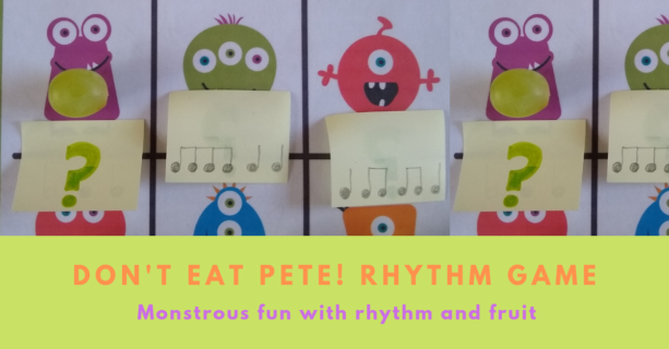 Dont Eat Pete with rhythms Didsbury Piano game