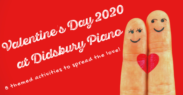 Valentines Day activities at Didsbury Piano
